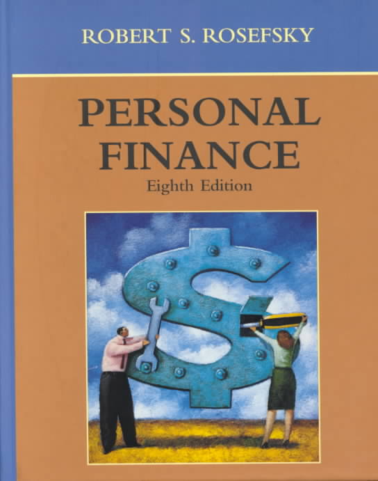Personal Finance By Rosefsky, Robert S.